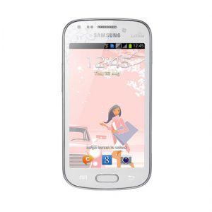 Smartphone Samsung GT-S7562 GALAXY S Duos, White La Fleur