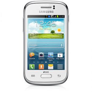 Smartphone Samsung GT-S6312 GALAXY Young Duos, White